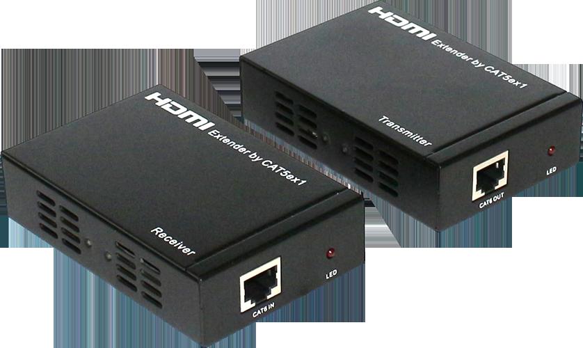 Exten 网线传输器 (带Com、IR)VC-1-R-HD